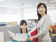 Creating pleasant working environments and developing diverse human resources